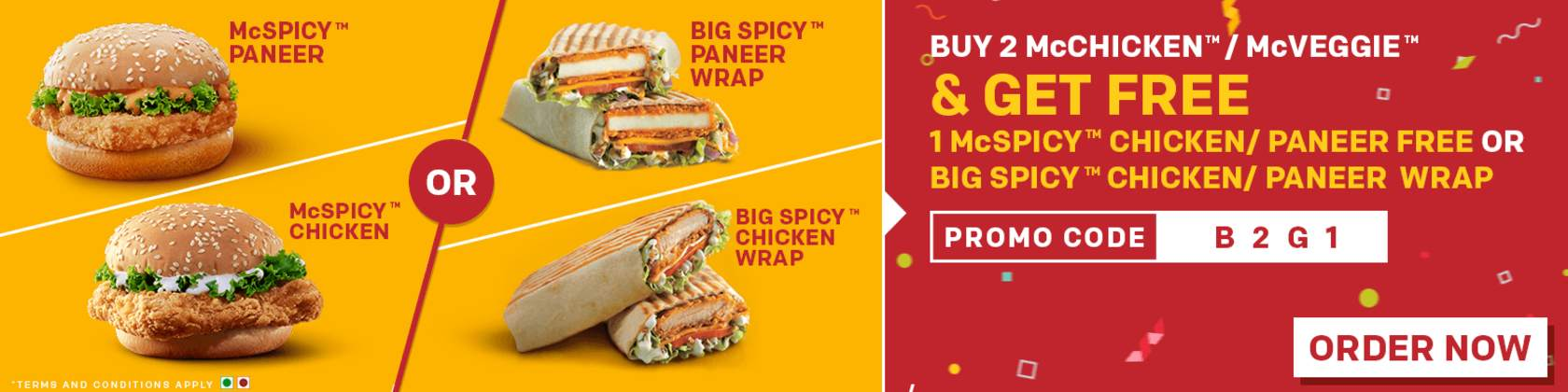mcdonalds india menu with price