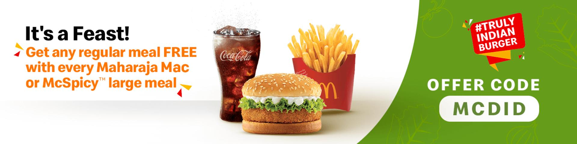 McDelivery - Order Food Online Via McDonald's India Food Delivery